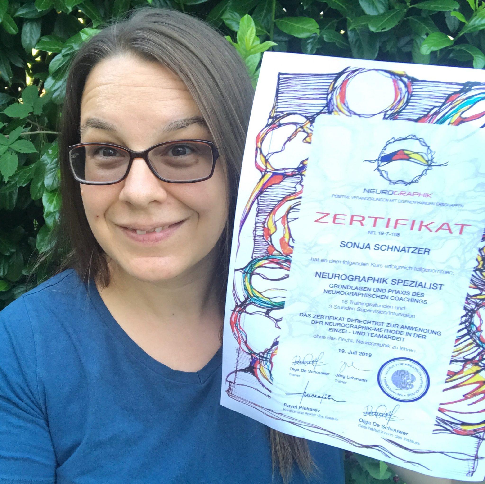 Sonja Schnatzer - Neurographik Spezialistin