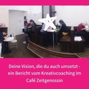 Kreativcoaching im Cafe