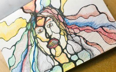 How-to: Emotionales Selbstportrait zeichnen