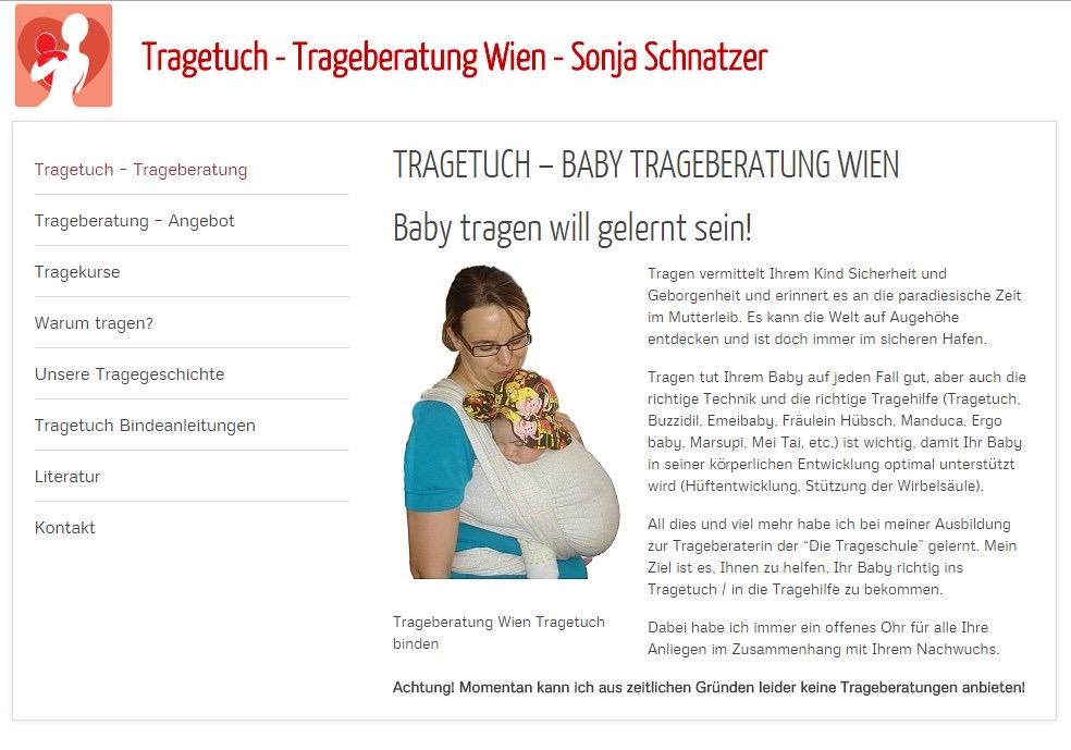 Trageberatung Wien Sonja Schnatzer
