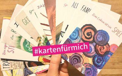 #kartenfürmich – Rückblick und Ausblick auf ein Herzensprojekt, das mein Jahr 2021 prägen wird