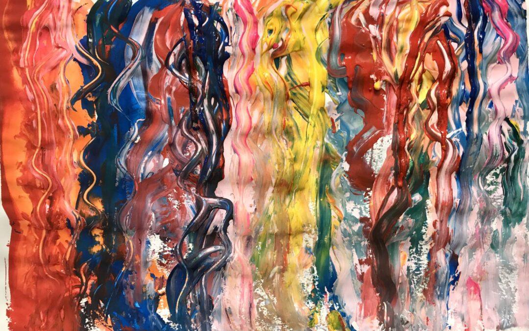 Anleitung zum intuitiven Malen im Alltag