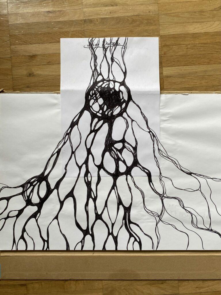 Wut Vulkan Neurographik